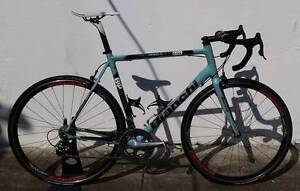 Bianchi 928 MonoQ. XL. Record 10speed. Miche Carbon Clinchers! Dulwich Hill Marrickville Area Preview
