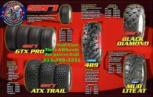Golf Cart Wheels Rims - Tires - Batteries - Lowest PRICES CANADA Kingston Kingston Area image 4