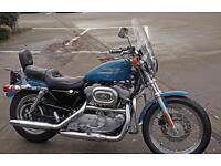 Harley 883 Sportster Hugger. Immaculate