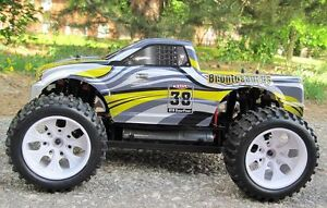 RC Monster Electric Truck 1/10 Scale 4WD Cornwall Ontario image 4