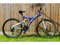 Women's shockwave mountain bike