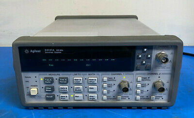 Hp Agilent 53131a 225mhz 3ghz Universal Frequency Counter W Opt 010 030