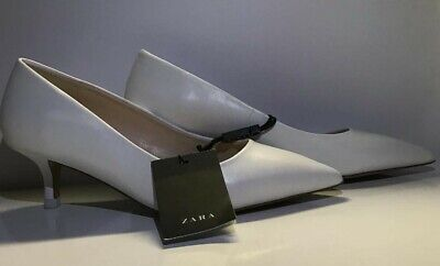 Zara white High Heel Shoes Pump size 6 new without box.