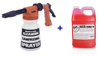 Gilmour Foamaster II Foam Gun + (1) Gallon Chemical Guys Maxi-Suds Car Wash Soap