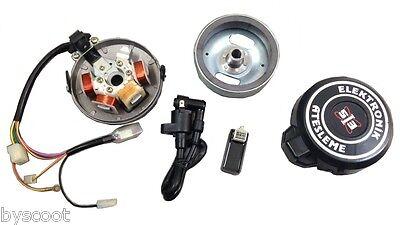 Electronic Ignition 12V Cyclo Peugeot 103 Sp / Mvl / Spx / Rcx New
