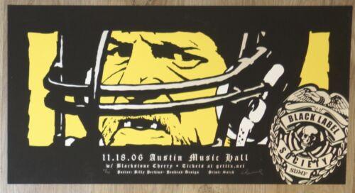 2006 Black Label Society - Austin Concert Poster by Billy Perkins Jack Lambert
