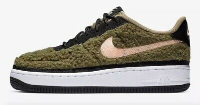 NWOB Air Force 1SHRLNG QS (GS) Sz 4Y AV6673 300 Pink Green