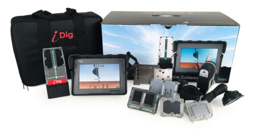 """iDig Touch 2D Excavator Grade Control System w/ 7"""" Display"""