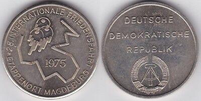 Hettstedt-Medaille Magdeburg Etappenort der 28. Internationalen Friedensfahrt 19