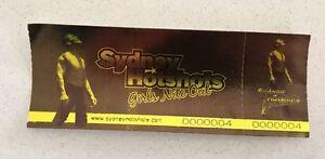 Sydney Hotshots ticket Cessnock Cessnock Area Preview