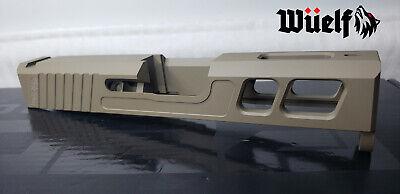 Glock 43/43x Slide Omega Series by Wüelf in FDE
