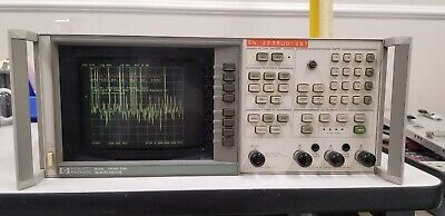 Hpagilent 8753c Network Analyzer 300khz-3ghz Read