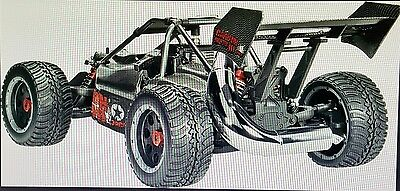 Carbon Fighter III 1:6 RC Modellauto Benzin Buggy Heckantrieb RtR 2,4 GHz