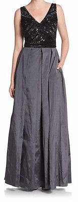 Aidan Mattox New Sleeveless Beaded Bodice Gown Size 6 MSRP $486 #HN 241 (Beaded Bodice)
