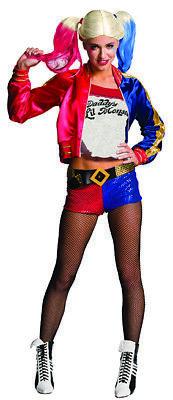 Harley Quinn Suicide Squad Kostüm für Erwachsene Herren Damen