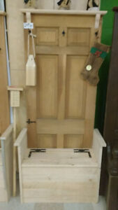 Entry Door Benches with storage