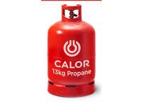 Full 13kg propane Calor gas bottle