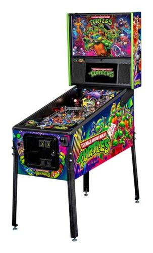 NEW Stern Teenage Mutant Ninja Turtles TMNT Pro  Pinball Machine  Free Shipping