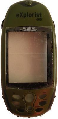 Magellan Explorist 400 Handheld Gps Replacement Green Front Cover Plastics -