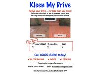 PROFESSIONAL DRIVEWAY CLEANING IN SHEFFIELD/CHESTERFIELD/MANSFIELD ALL OVER...