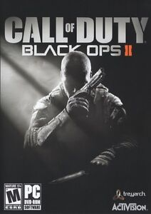 Call of Duty Black Ops II 2 COD 9 PC Game BRAND NEW & SEALED