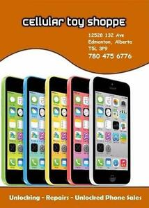 LIKE NEW - iPhone 5C 8GB WHITE UNLOCKED