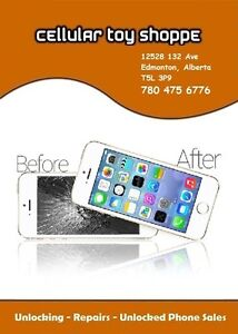 PROFESSIONAL CELLULAR PHONE REPAIRS & UNLOCKING 90 DAY WARRANTY