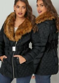 Women's fur jacket .New with tags