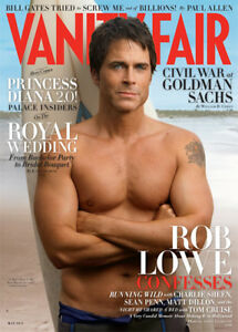 Vanity Fair (May 2011) Magazine (Rob Lowe Cover Feature)