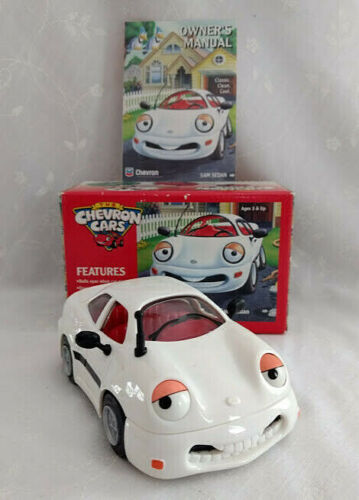 THE CHEVRON CARS; SAM SEDAN; Car #1, May, 1996; Ages 3 & Up Toy; Collectibles