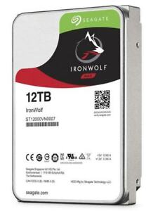 Seagate Ironwolf 12tb NEW in sealed bag NAS Harddrive HDD