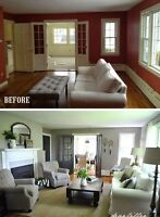 Painting - Walls, trim, cabinetry, ceilings