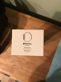 UNOPENED Apple Watch Series 2 Gold Aluminium Case with Concrete Sport Band