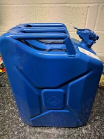 Brand new 20 Litre Jerry Can (Blue)