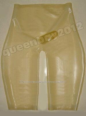 Neu 100% latex Rubber Gummi 0.45mm shorts Hose kurze Ganzanzug Anzug - Custom Latex Kostüm