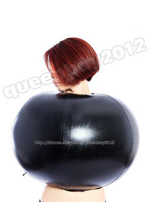 100% Latex Rubber Gummi 0.8mm Inflatable Top Ball Catsuit Suit Blowup Body - Blow Up Body Balls
