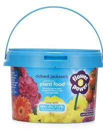 Flower power plant food