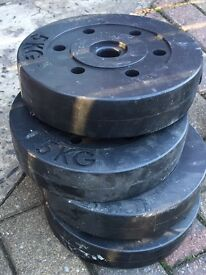 Set of 4 ....5K weights