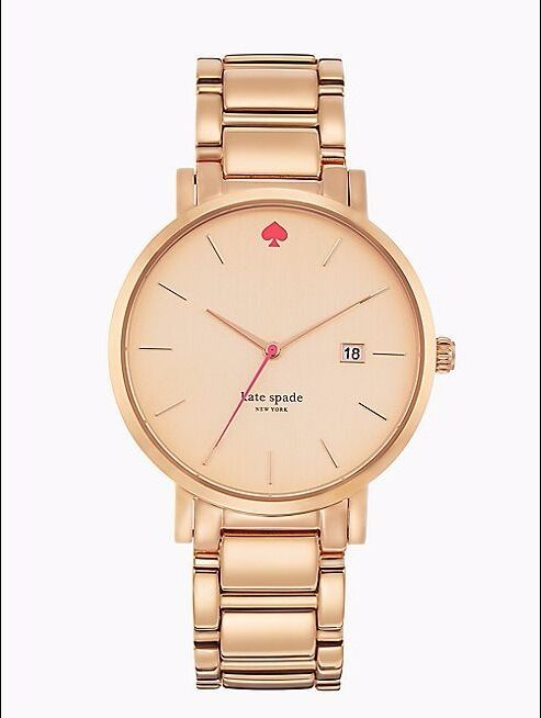 KATE SPADE ROSE GOLD GRAMERCY WATCH BRAND NEW IN BOX