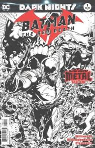 Batman The Red Death #1 Black and White ... Willing to Ship