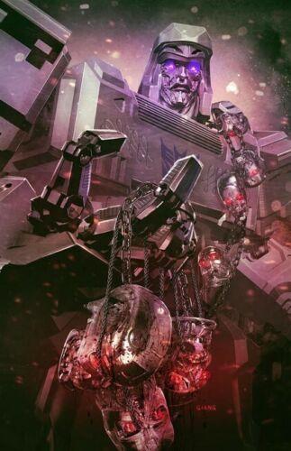 Transformers vs. Terminator #1 - CK Exclusive Virgin Variant Cover - John Giang
