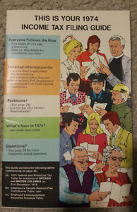 WOW 1974 INCOME TAX FILING GUIDE!!!