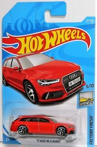 Hot Wheels 1/64 '17 Audi RS 6 Avant Diecast Car