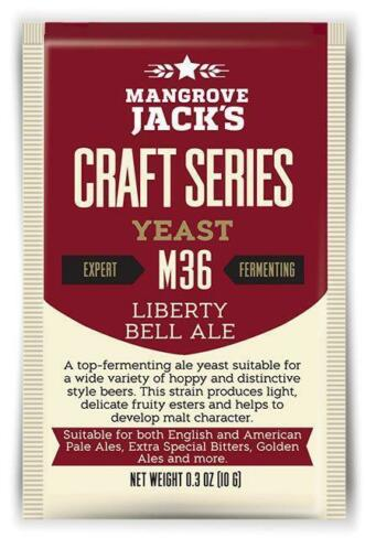 Hobbybrouwers biergist, Mangrove Jack's M36 Liberty Bell Ale