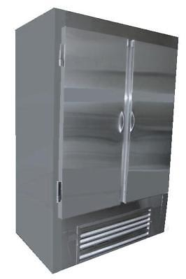 Cooltech Stainless Steel 2-door Reach-in Upright Freezer 48 Cmph-48ri-f