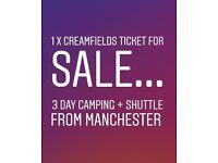 Creamfields 2018 Ticket