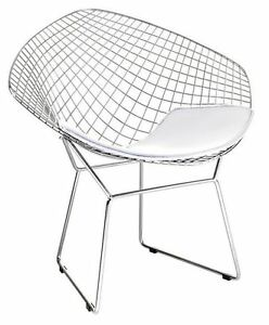 Bertoia Diamond Chair   eBay