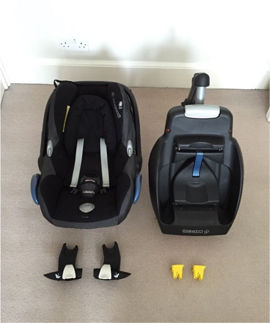 maxi cosi cabriofix car seat isofix base and bugaboo bee. Black Bedroom Furniture Sets. Home Design Ideas