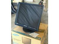 2 x Samsung Security Monitor