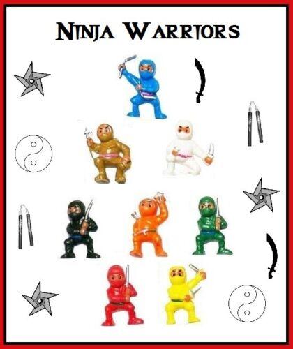 Small Ninja Warrior Fighters Shinobi Japanese - 8 mini figures buy more & save $